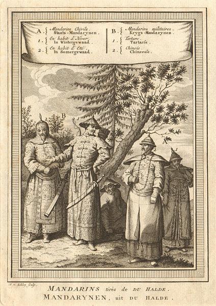 Associate Product China Mandarin Bureaucrat winter/summer dress Military Tatar Chinese SCHLEY 1749