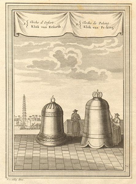 Associate Product Bell of Beijing Peking. Maria Gloriosa Bell of Erfurt, Germany. SCHLEY 1749