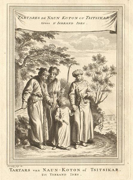 Associate Product Tartars of Naun Koton / Qiqihar, Heilongjiang, China. Archery Tatar. SCHLEY 1749
