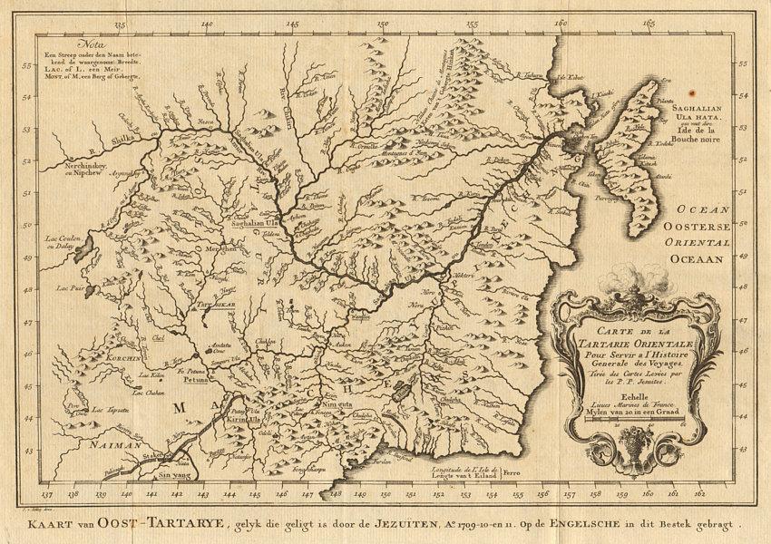 Associate Product 'Carte de la Tartarie Orientale'. Eastern Tartary. China. BELLIN/SCHLEY 1749 map
