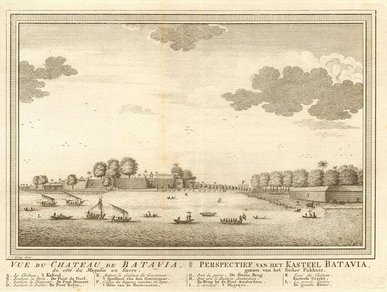 Associate Product 'Château de Batavia'. Castle. Dutch East Indies. Jakarta, Indonesia. SCHLEY 1753