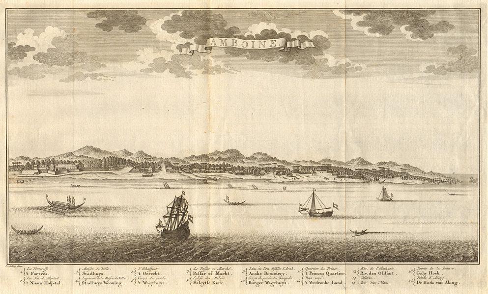Associate Product 'Amboine'. Ambon city & island, Molucca / Maluku islands. Indonesia. SCHLEY 1755