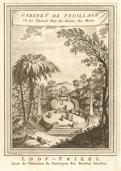 Associate Product Chinois Festins des Morts. Chinese Festival of the Dead Jakarta Java SCHLEY 1755