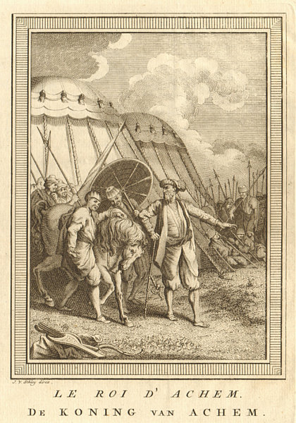 Associate Product Le Roi d'Achem. King of Aceh Darussalam Sumatra. Alauddin Johan Syah SCHLEY 1755