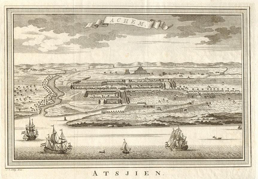 Associate Product 'Achem'. Kutaraja (Banda Aceh), Sumatra. Indonesia. East Indies. SCHLEY 1755