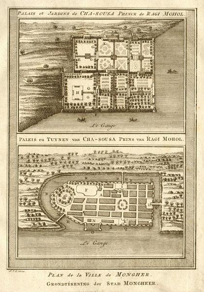 Associate Product Sangi Dalan, Shah Shuja Palace, Rajmahal. Munger Bihar. BELLIN/SCHLEY 1755 map