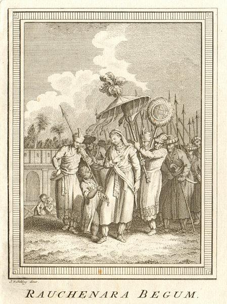 Associate Product 'Rauchenara Begum'. Roshanara Begum, Mughal Princess. India. SCHLEY 1755 print