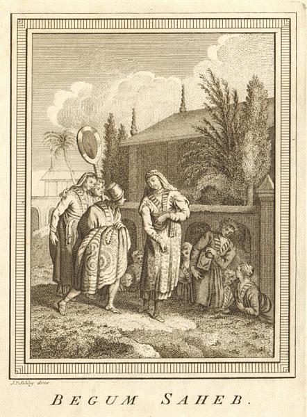 Associate Product 'Begum Saheb'. JahanaraBegumSahiba, Mughal Princess. India. SCHLEY 1755