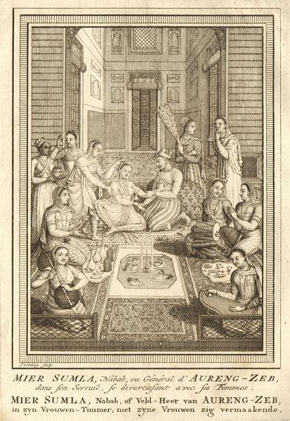 Associate Product 'Aureng-Zeb'. Muhi-ud-Din Muhammad,Aurangzeb, 6th Mughal Emperor. SCHLEY 1755