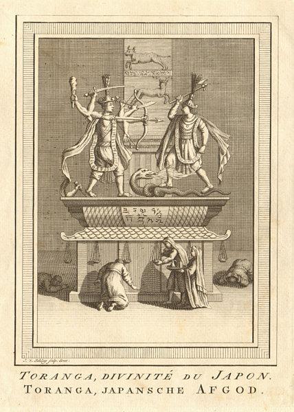 Associate Product 'Toranga, divinité du Japon'. Japan. Toranga, a Japanese deity. SCHLEY 1756