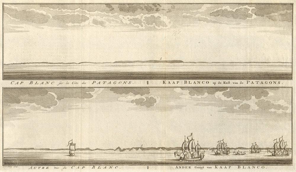 Associate Product Cabo Blanco. Patagonia coast profile. Puerto Deseado. Argentina. SCHLEY 1757