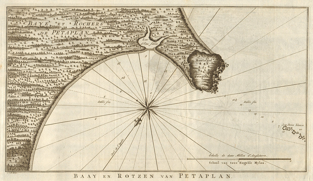 Associate Product 'Baye et Rochers de Petaplan'. Potosi, Petatlan, Mexico. BELLIN/SCHLEY 1757 map