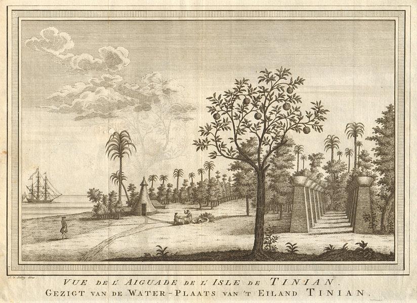Associate Product 'L'Aiguade de l'lsle de Tinian'. Micronesia Northern Mariana Islands SCHLEY 1757
