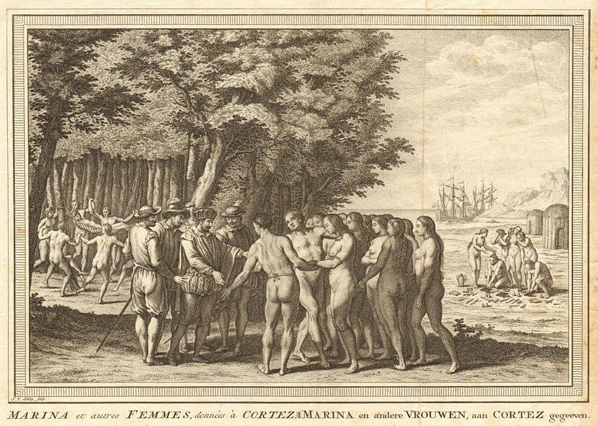 Associate Product La Malinche given to Hernan Cortes. Doña Marina Tabasco Mexico 1519. SCHLEY 1758