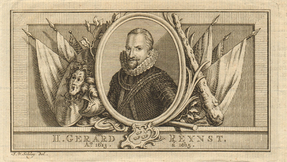 Associate Product Gerard Reynst, Governor-General of the Dutch East Indies 1613-1615 1763 print