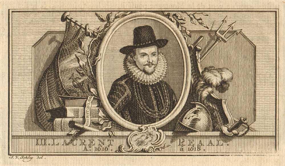 Associate Product Laurens Reael, Governor-General of the Dutch East Indies 1616-1618 1763 print