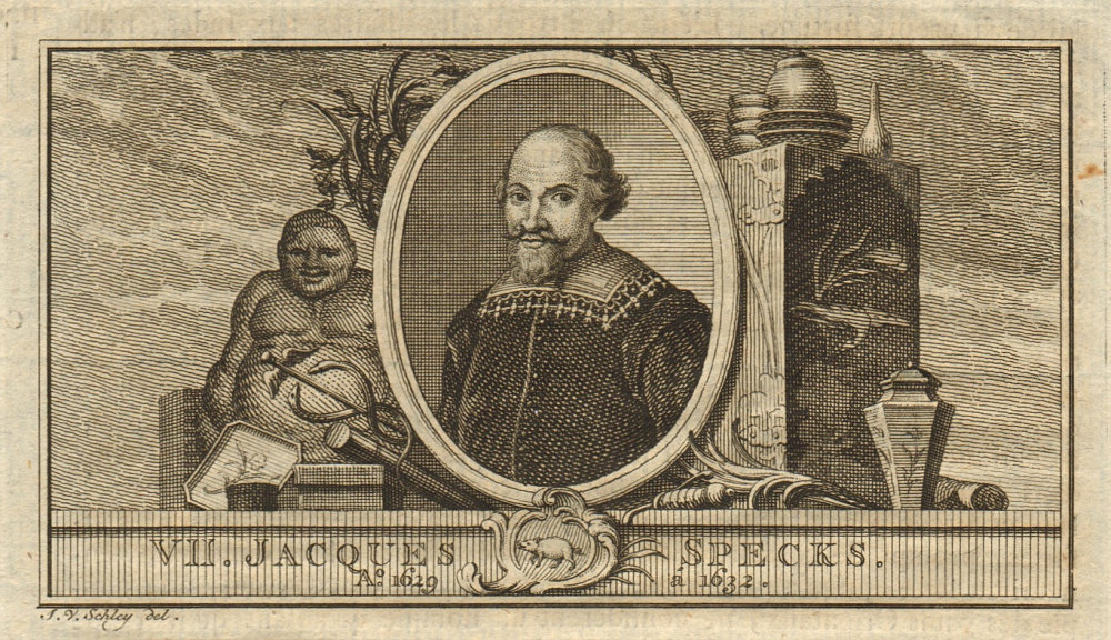 Associate Product Jacques Specx, Governor-General of the Dutch East Indies 1629-1632 1763 print