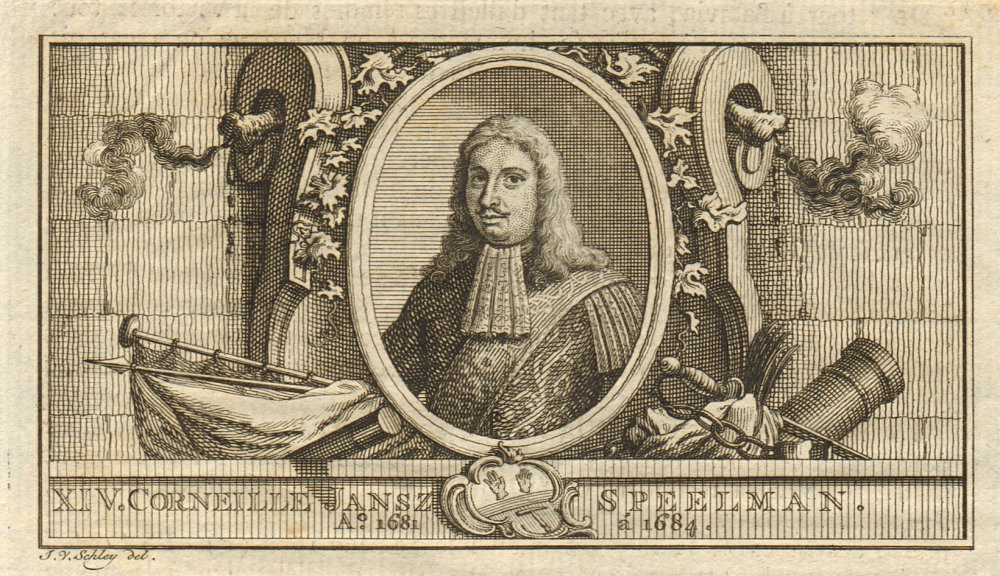 Associate Product Cornelis Speelman, Governor-General of the Dutch East Indies 1681-1684 1763