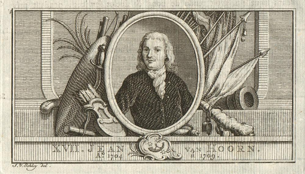 Associate Product Joan van Hoorn, Governor-General of the Dutch East Indies 1704-1709 1763 print