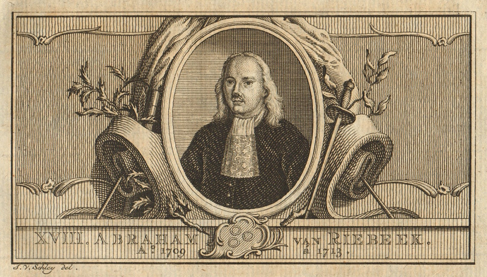 Associate Product Abraham van Riebeeck, Governor-General of the Dutch East Indies 1709-1713 1763