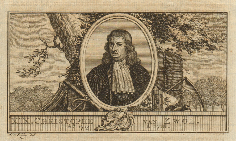 Associate Product Christoffel van Swoll, Governor-General of the Dutch East Indies 1713-1718 1763