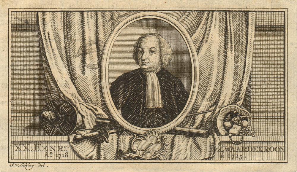 Associate Product Hendrick Zwaardecroon, Governor-General of the Dutch East Indies 1718-1725 1763