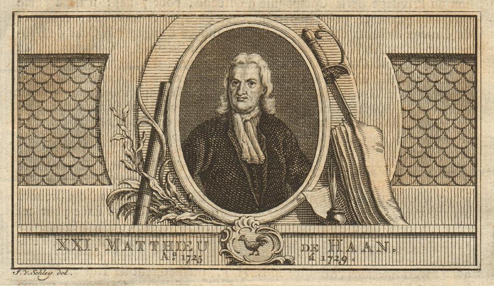 Associate Product Mattheus de Haan, Governor-General of the Dutch East Indies 1725-1729 1763