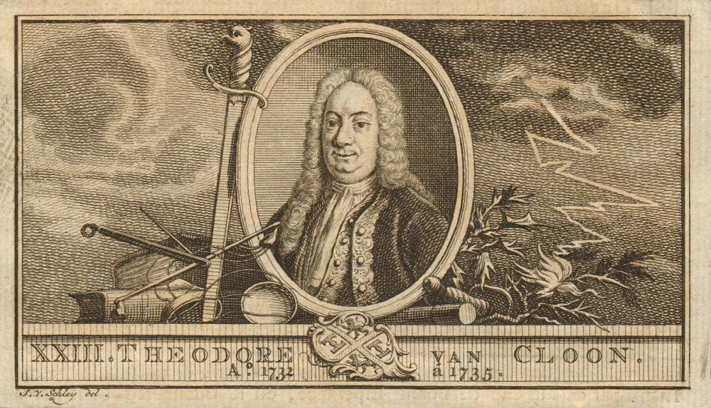 Associate Product Dirk van Cloon, Governor-General of the Dutch East Indies 1732-1735 1763 print