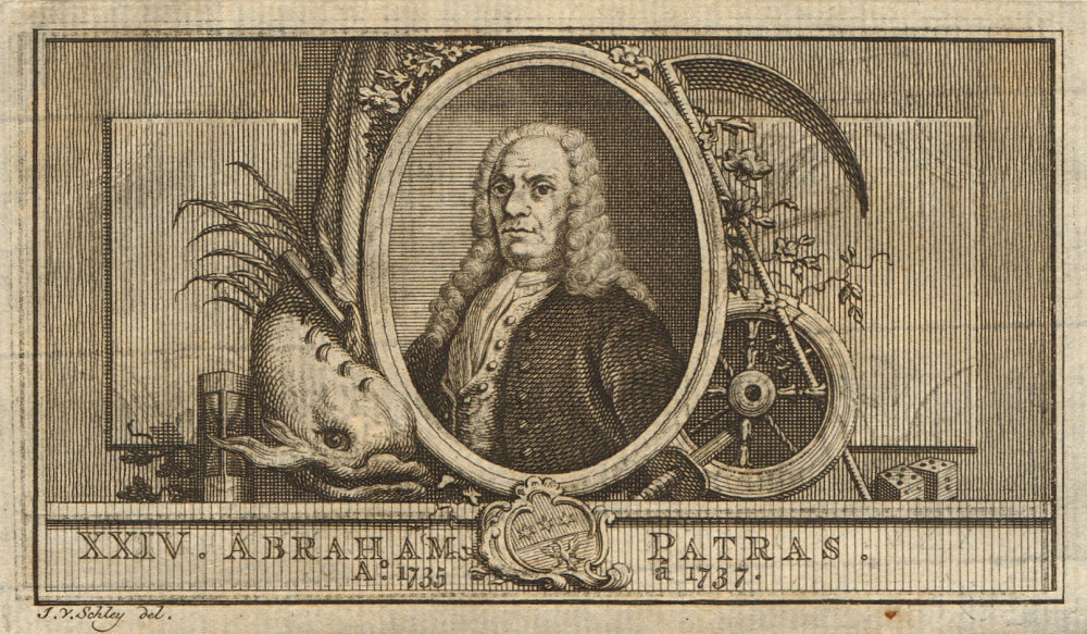 Associate Product Abraham Patras, Governor-General of the Dutch East Indies 1735-1737 1763 print