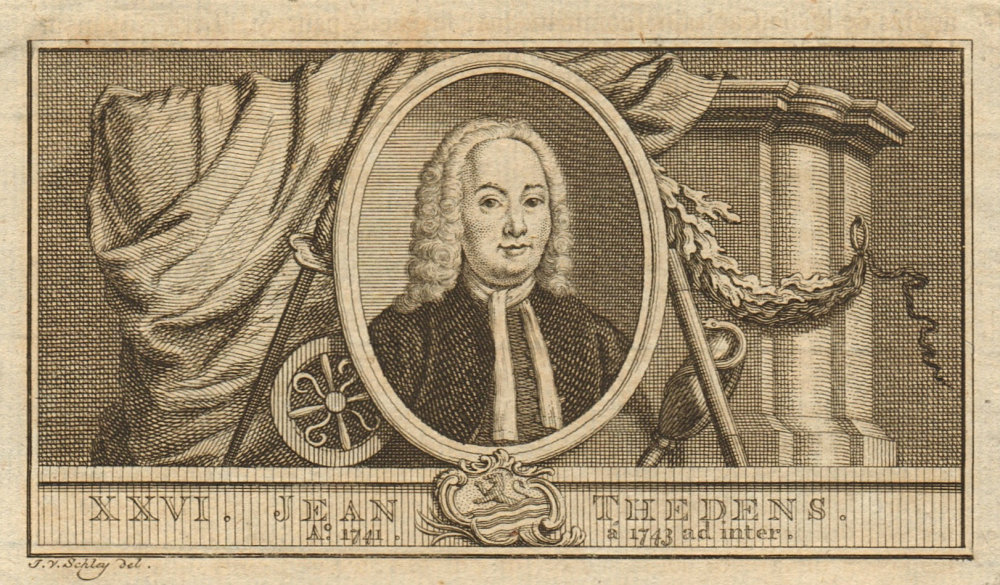 Associate Product Johannes Thedens, Governor-General of the Dutch East Indies 1741-1743 1763