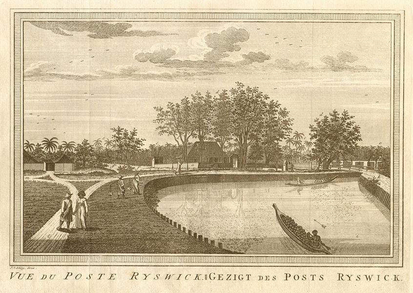Associate Product Fort Rijswijk/Ryswick, Petojo Utara, Batavia/Jakarta. Razed 1729. SCHLEY 1763