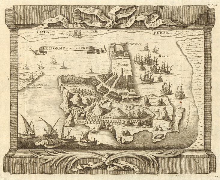 Associate Product 'Isle d'Ormus ou de Jerun'. Iran. Hormuz Island, Persian Gulf. BELLIN 1746 map