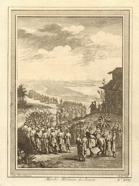 Associate Product 'Marche Militaire du Japon'. Japanese military march 1746 old antique print