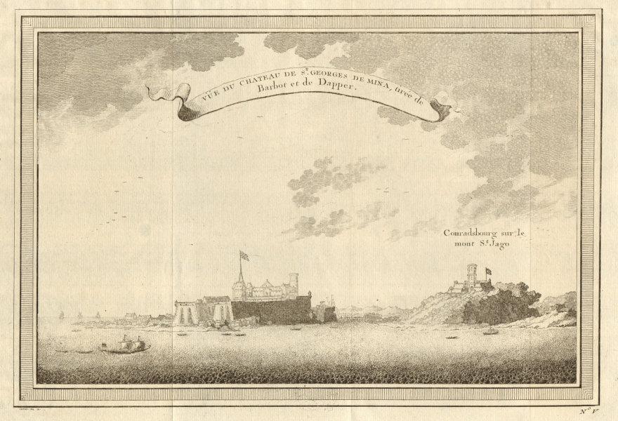 Associate Product Ghana. Elmina Castle. Fort Conraadsburg. São Jorge/Tiago da Mina. St George 1747