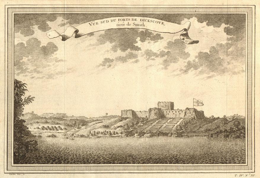 'Fort de Dickscove'. Fort Dixcove or Metal Cross, Princes Town, Ghana 1747