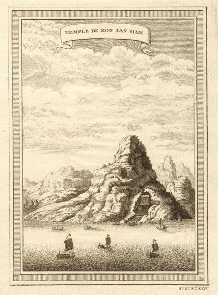 Associate Product 'Temple de Kon Jan Siam'. Guan-Yin Yan. Bei jiang river, Yingde, China 1748