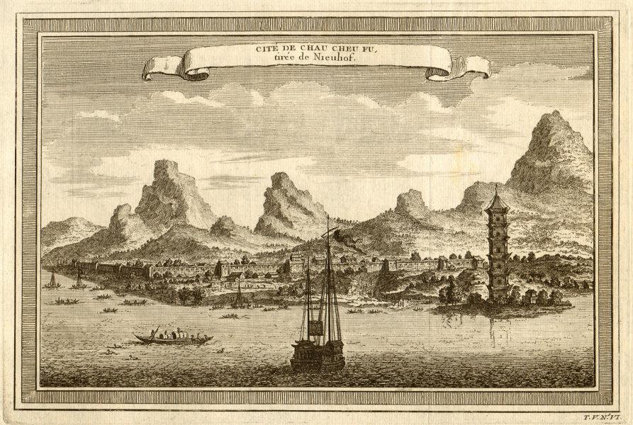Associate Product 'Cité de Chau cheu fu'. View of the City of Chaozhou. Guangzhou, China 1748