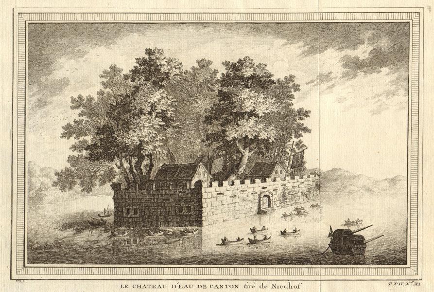 Associate Product 'Le Château d'Eau de Canton'. The Water Castle at Guangzhou, China. Nieuhof 1749