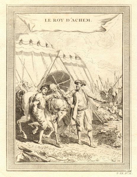 Associate Product 'Le Roy d'Achem'. King of Aceh Darussalam, Sumatra. Alauddin Johan Syah 1751