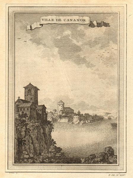 Associate Product 'Ville de Cananor'. The port of Kannur, Kerala, India. Cannanore 1751 print