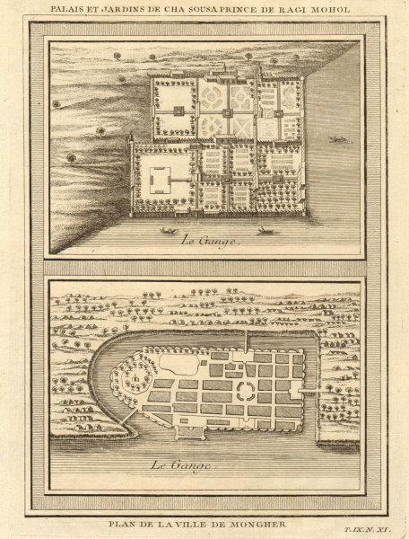Associate Product Sangi Dalan, Shah Shuja's Palace, Rajmahal. Munger plan, Bihar. BELLIN 1751 map