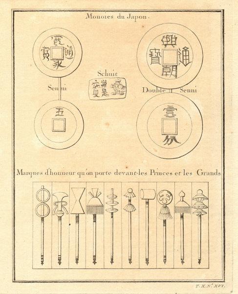 Associate Product Monnoies du Japon & Marques d'honneur. Japanese coins & Badges of honour 1752