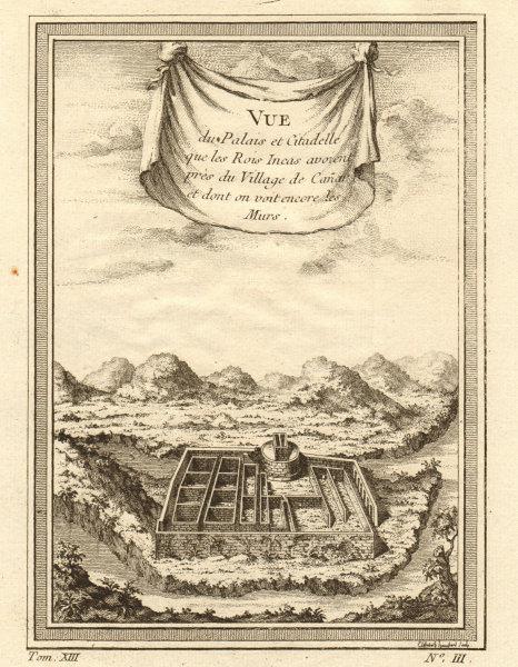 Associate Product The Palace & Citadel of the Inca Kings at Ingapirca, near Canar. Ecuador 1756
