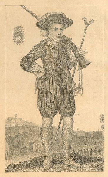 Associate Product Sir Nicholas Crispe, Hammersmith benefactor. Royalist. West African trader 1839
