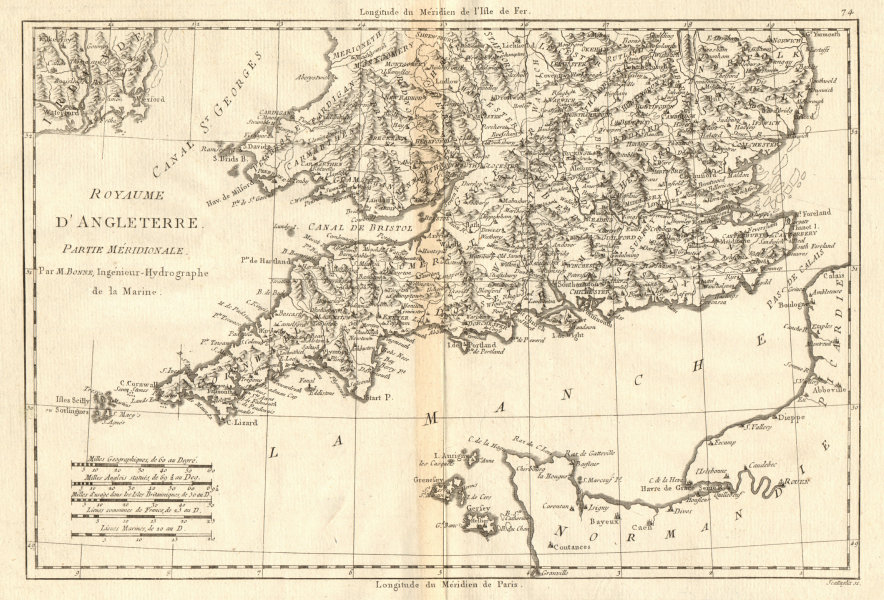 Show Me The Map Of England.Details About Royaume D Angleterre Partie Meridionale England Wales South Bonne 1789 Map
