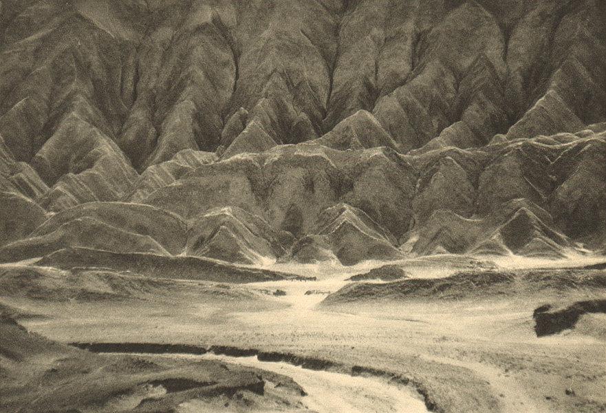 Associate Product CHILE. Cerros de Purilactis  1932 old vintage print picture