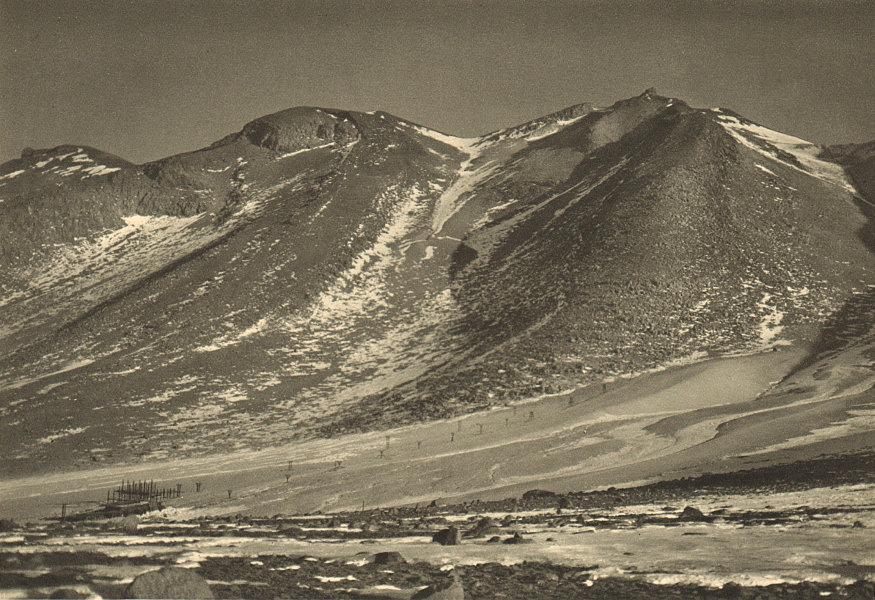 Associate Product CHILE. Volcan Aucanquilcha. Mina de azufre Victoria. Sulphur/Sulfur mine 1932