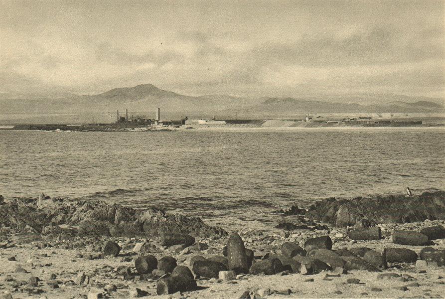 Associate Product CHILE. Caldera. Puerto de Capiapo. Port 1932 old vintage print picture