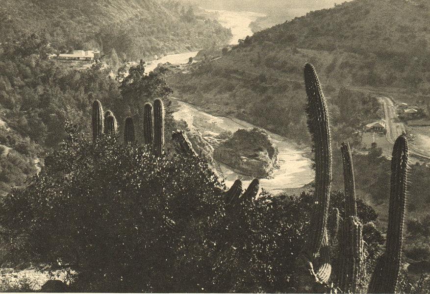 Associate Product CHILE. Banos Termas de Cauquenes. Valle del Rio Cachapoal. Hot springs 1932