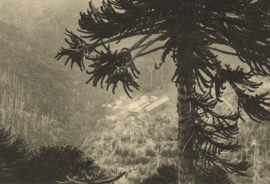 Associate Product CHILE. Termas de Tolhuaca. Springs spa resort 1932 old vintage print picture